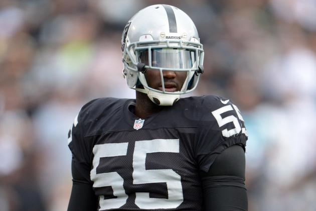 Report: Raiders Waive LB Rolando McClain