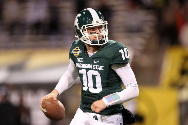 'Nerve-Wracking,' but Michigan State's Mark Dantonio Has QBs Go Live