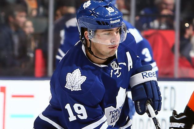 Lupul Listed as Day-to-Day, Might Have Concussion