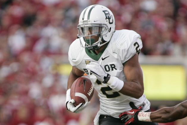 Baylor WR Terrance Williams Visits Rams