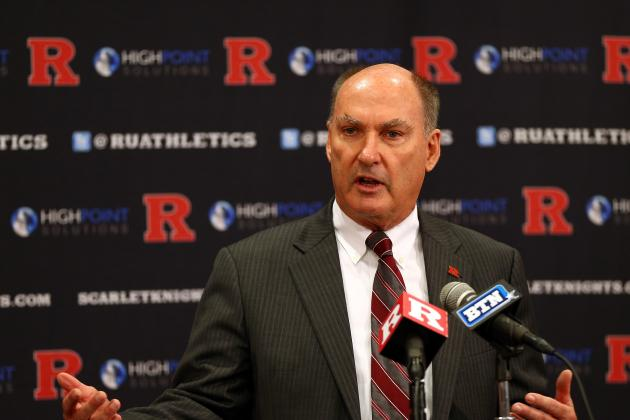 Big Ten Commissioner Jim Delany Weighs on Mike Rice Tapes