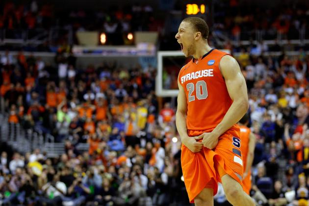 Syracuse Guard Not Afraid to Give Michigan Bulletin Board Material