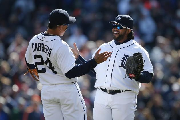 Fielder Goes Long Twice as Tigers Rip Yanks