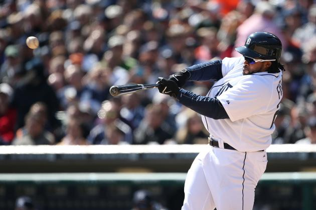 Prince Fielder's Homers Make Tigers' Home Opener a Happy One
