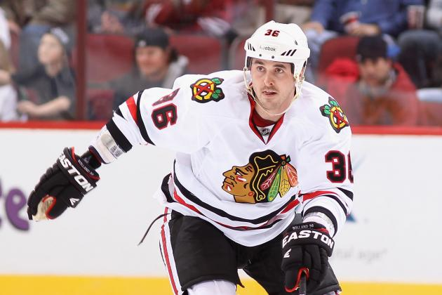 Chicago Blackhawks: Is Dave Bolland Injured or Just Overmatched on Second Line?