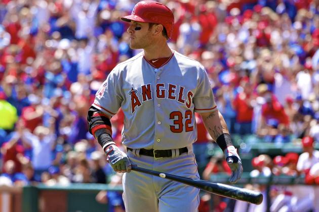 Josh Hamilton Goes Hitless in First Game vs. Rangers Since Signing with Angels