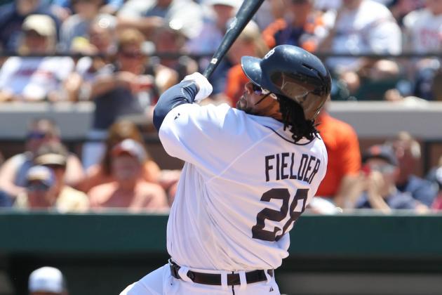 Fielder HR Hits Fan In Face