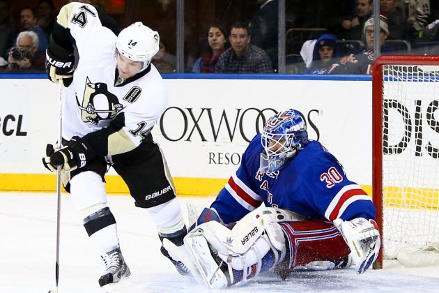 ESPN Gamecast: Rangers vs. Penguins