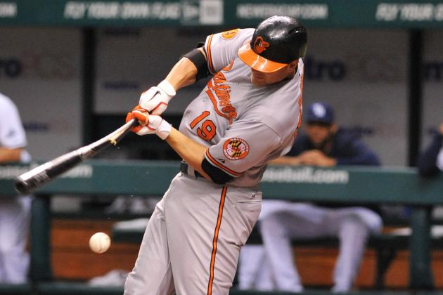 Davis' 8th Inning Grand Slam Carries O's to 9-5 Win