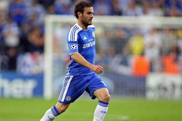 Juan Mata, god of the goal assist, seeks to join Chelsea's pantheon