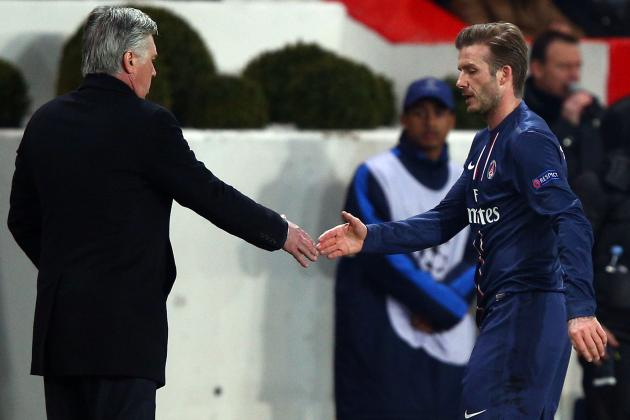 PSG Did Not Force Beckham Start