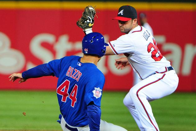 MLB Gamecast: Cubs vs. Braves