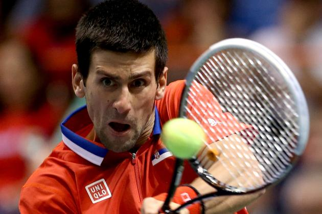 Djokovic Beats Isner, Serbia Leads 1-0