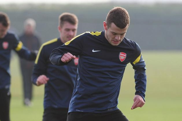 Jack's Back: Wilshere Back in Training to Boost Arsenal Assault