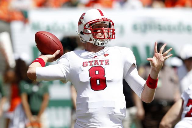 Mike Glennon Scouting Report: NFL Outlook for North Carolina State QB