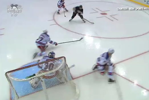 Jussi Jokinen Scores His First Goal as a Member of the Penguins