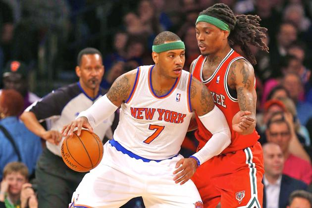 Milwaukee Bucks vs. New York Knicks: Live Score, Results and Game Highlights