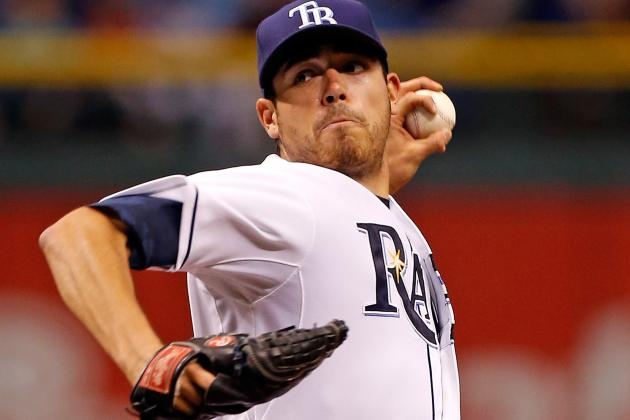 Moore Sharp over 6 as Rays Blank Indians 4-0