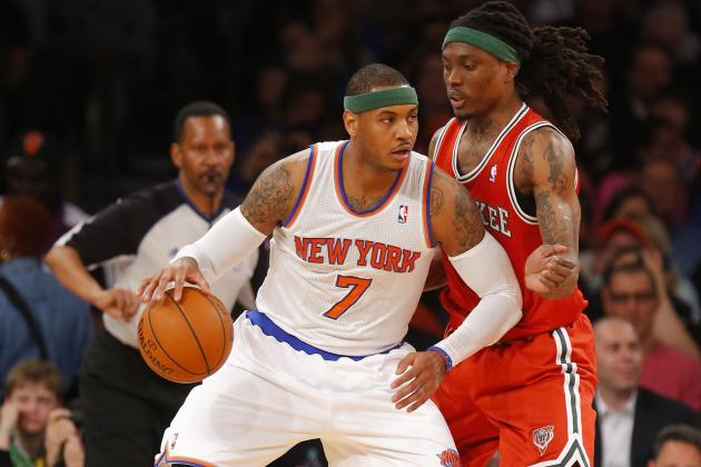 Carmelo Anthony Dominates Again, Netting 41 Points in Win over Bucks