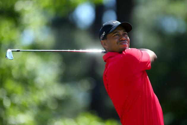 Tiger Woods Set for Top-10 Finish at the Masters in 2013