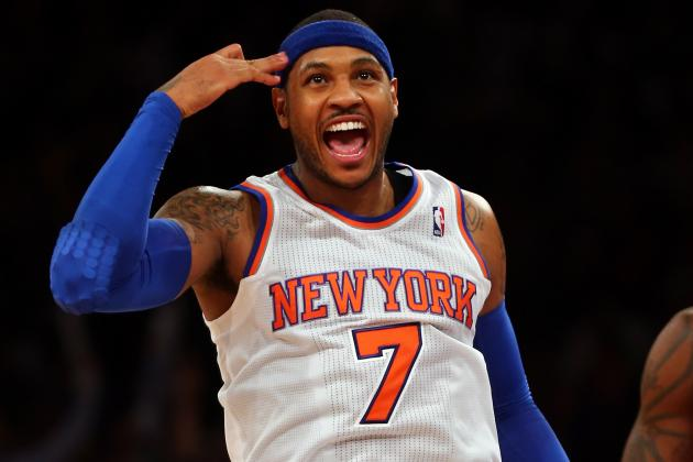 How High Is New York Knicks' Playoff Ceiling If Carmelo Anthony Stays Hot?