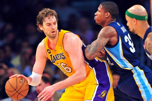 Memphis Grizzlies vs. LA Lakers: Live Score, Results and Game Highlights
