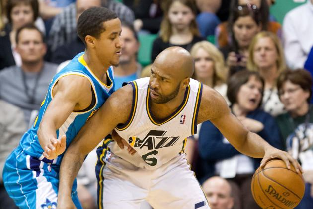Makeshift Lineup Turns Tide for Jazz vs. Hornets