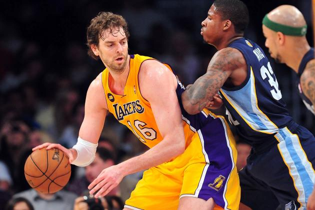 Lakers Beat Grizzlies 86-84