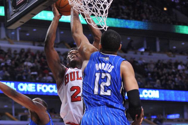 Bulls slip past Magic behind Robinson, Deng