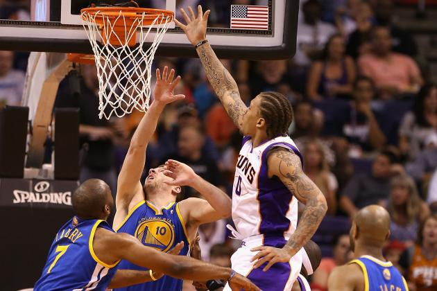 Suns' Rally Comes Up Short Against Golden State Warriors at Home