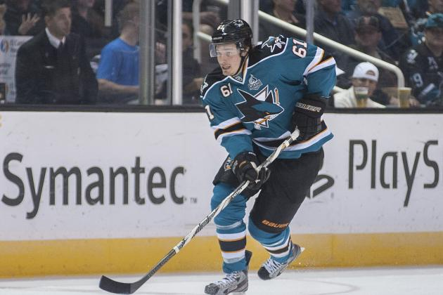 Pavelski Scores Late for 7th Straight S.J. Win