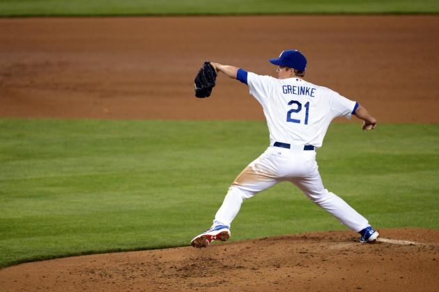 Analysis of Zack Greinke's First Start with the L.A. Dodgers
