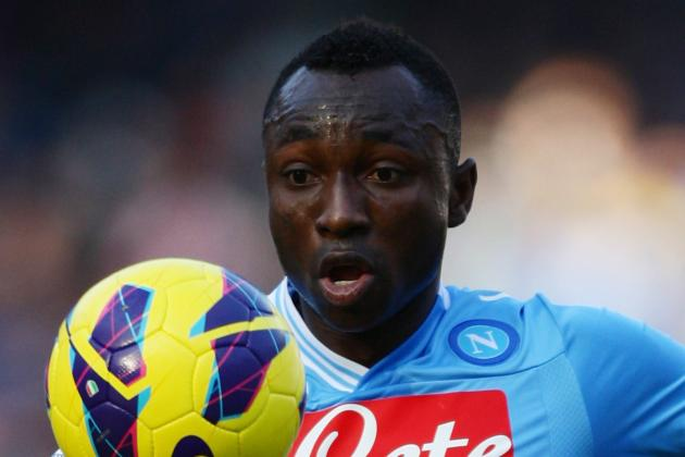 Serie A: Napoli's Pablo Armero Says Title Still Up for Grabs
