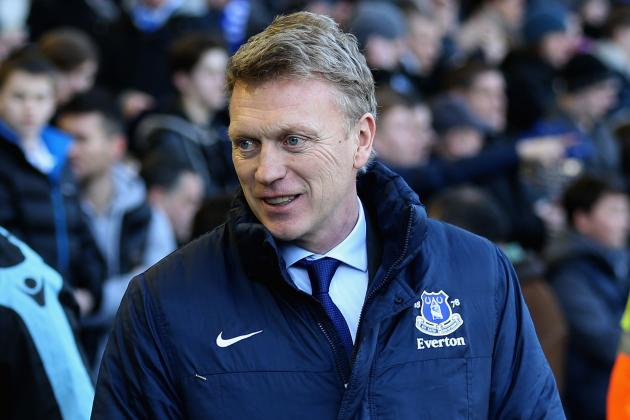 Moyes Is Delighted with the Amount of High-Profile Games Coming Up for Everton