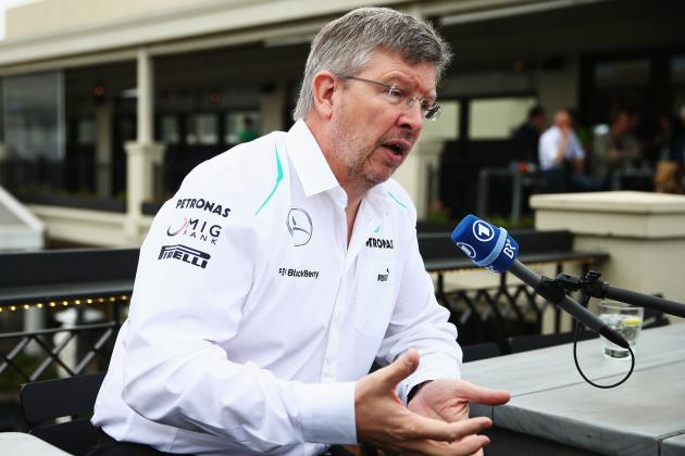 Brawn Insists No Number One Driver at Mercedes