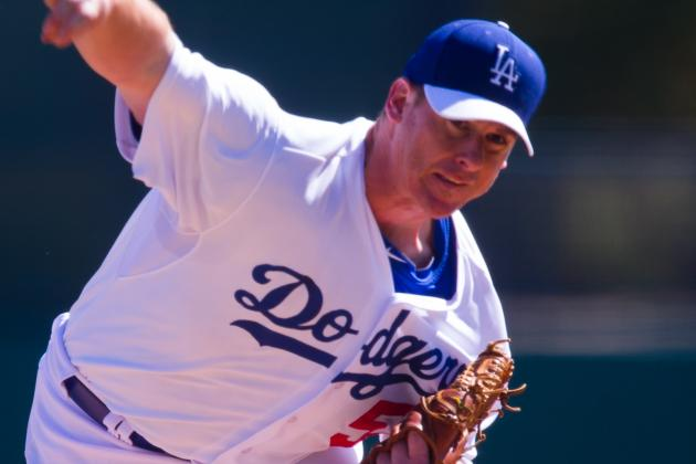 Chad Billinglsey Set to Join Dodgers' Rotation on Wednesday