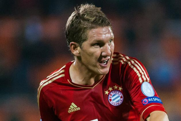 Golazo! Sebastian Schweinsteiger (Bayern Munich) 1-0 V Eintracht Frankfurt