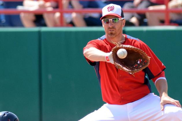 Tracy Replaces LaRoche in Nats Lineup