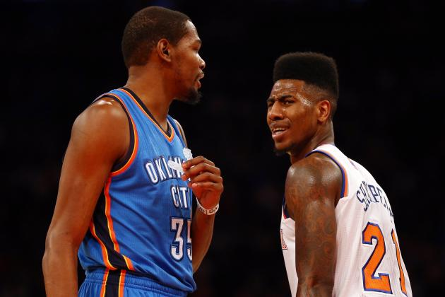 New York Knicks vs. Oklahoma City Thunder: Preview, Analysis and Predictions