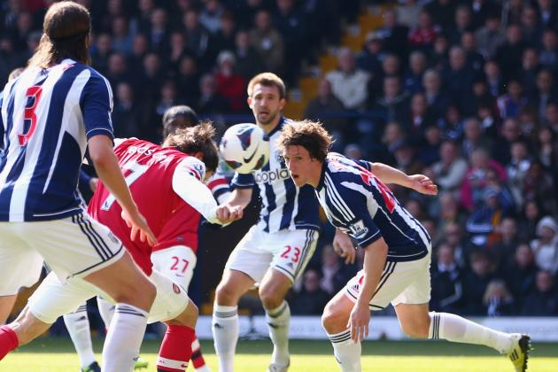 West Brom vs. Arsenal: Tomas Rosicky Is Arsenal's Main Man for the Run-in