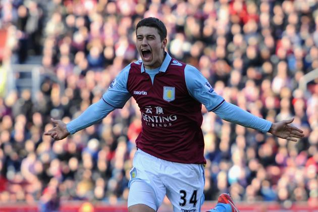 Lowton Blasts One from Distance for Villa