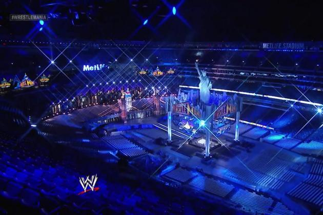 WWE WrestleMania XXIX: WWE Uses New Jersey as Storage for Shiny New York Stuff