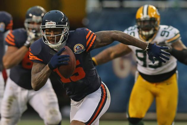 Bears Should Use Brandon Marshall in Slot More in 2013