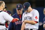Red Sox Pitcher Lackey Injures Biceps
