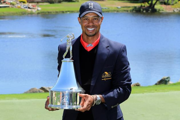 Masters 2013: Golfers with Best Chance to Challenge Tiger Woods at Augusta