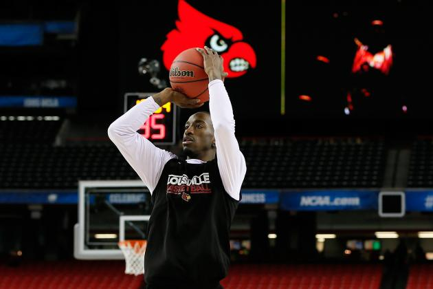 Russ Smith Will Continue Fantastic NCAA Tournament for Louisville on Saturday