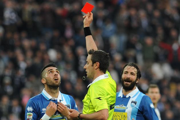 Pescara Blame the Ref