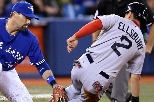 John Lackey Injures Arm as Red Sox Fall to Blue Jays, 5-0