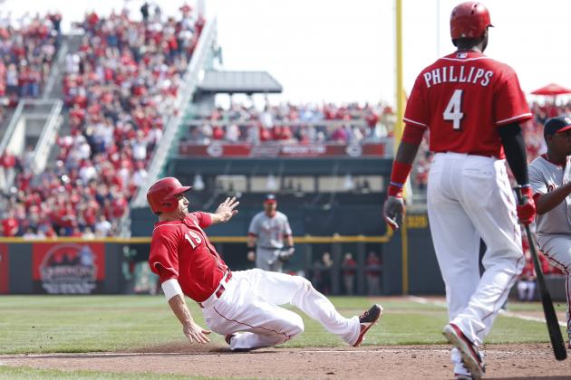 Reds Fall to Nationals in Extra Innings