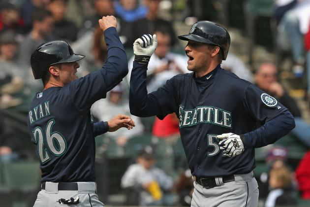 Mariners Can't Get Enough Offense Going Until Late in 4-3 Loss